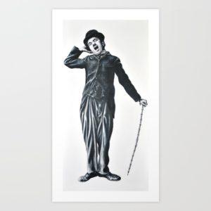 """Charlie Chaplin"" par Witney Nielsen (BooBooStudios)"