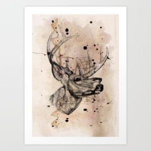 """Deer"" par Mark Ashkenazi"