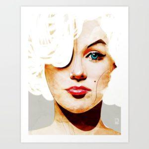 """""""Marilyn Monroe"""" par Ed Pires"""