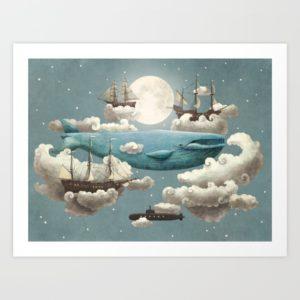 """""""Ocean Meets Sky"""" par Terry Fan"""